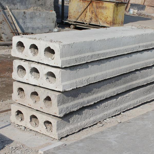 在水泥工程中预制空心板让承受压力稳定